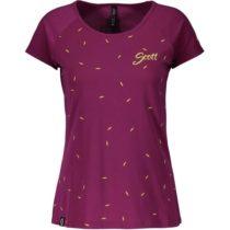 Scott TRAIL FLOW DRI S/SL W fialová M - Dámske tričko