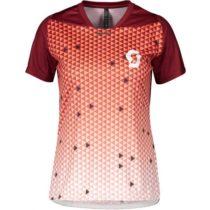 Scott TRAIL VERTIC PRO S/SL W červená XL - Dámske tričko