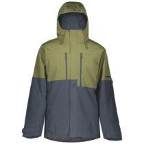 Scott ULTIMATE DRYO 10 JACKET tmavo zelená M - Pánska lyžiarska bunda