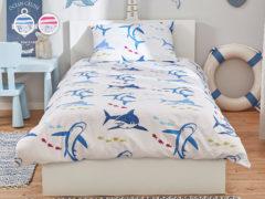 Posteľné obliečky Dormeo Seaworld, 140x200 cm, modrá