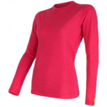 Sensor MERINO ACTIVE ružová XL - Dámske funkčné tričko