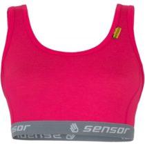 Sensor MERINO ACTIVE W červená M - Športová podprsenka