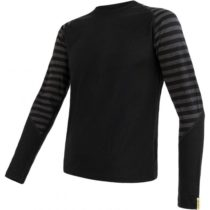Sensor MERINO ACTIVE M čierna L - Pánske tričko