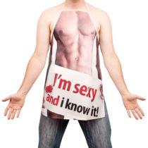 Sexy zástera - pre neho