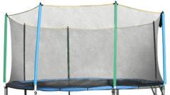 Ochranná sieť bez tyčí k trampolínam 244 cm - na 6 tyčí
