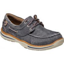 Skechers ELECTED-HORIZON tmavo modrá 46 - Pánska voľnočasová obuv
