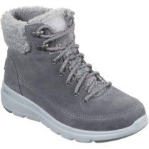 Skechers GLACIAL ULTRA tmavo šedá 41 - Dámska zimná obuv