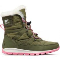 Sorel YOUTH WHITNEY  SHORT tmavo zelená 2 - Detská zimná obuv