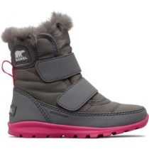 Sorel CHILDRENS WHITNEY VELCRO šedá 13 - Dievčenská zimná obuv