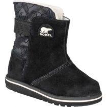Sorel YOUTH RYLEE  CAMO čierna 9 - Detská zimná obuv