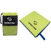 Sprinter UTERÁK 100x160CM zelená  - Sportovní uterák z mikrovlákna