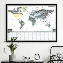 Stieracia mapa skurveného sveta