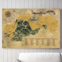 Stieracia mapa Slovenska Deluxe