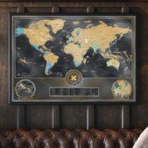 Stieracia mapa sveta Deluxe - X edícia