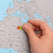 Stieracia mapa sveta Lite