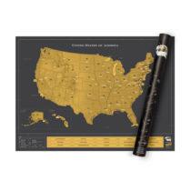 Stieracia mapa USA Deluxe