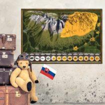 Stieracia mapa Vysoké Tatry Deluxe