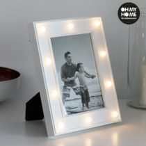 Stolný LED fotorámček na 1 fotografiu