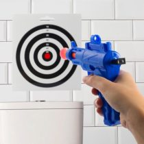 Strieľacia hra na WC