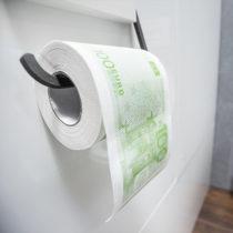 Toaletný papier 100 Eur