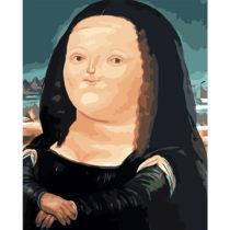 Tučná Mona Lisa - sada na maľovanie