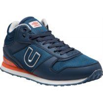 Umbro TRAFFORD II MID oranžová 11 - Pánska voľnočasová obuv