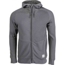 Umbro THE WALSH FZ HOODED JACKET šedá M - Pánska mikina