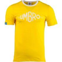 Umbro GRAPHIC TEE žltá M - Pánske tričko