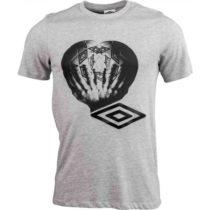 Umbro HANDBALL GRAPHIC TEE šedá XL - Pánske tričko