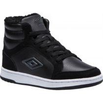 Umbro RICHMOND MID JNR čierna 5.5Y - Detská voľnočasová obuv