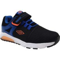 Umbro RIDDICK čierna 27 - Chlapčenská voľnočasová obuv