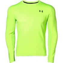 Under Armour QUALIFIER COLDGEAR LONGSLEEVE svetlo zelená XL - Pánske bežecké tričko s dlhým rukávom