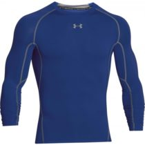 Under Armour HEAT ARM COMPR LONG modrá XXL - Pánske tričko