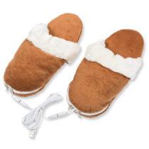 USB hrejúce papuče