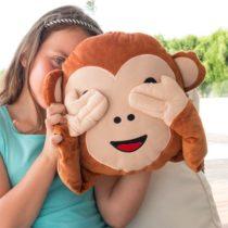 Vankúš so smajlíkom Opica