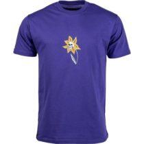 Vans MN SKULL FLOWER SS tmavo modrá M - Pánske tričko