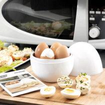 Varič na vajíčka do mikrovlnnej rúry s receptami