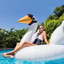 Veľká nafukovacia labuť do bazéna 194 x 152 x 147 cm Intex