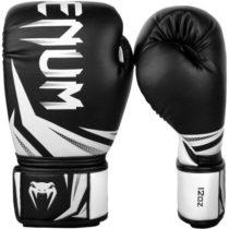 Venum CHALLENGER 3.0 BOXING GLOVES biela 10oz - Boxerské rukavice