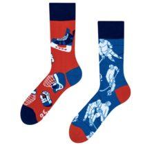 Veselé ponožky Ľadový hokej