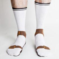 Veselé ponožky - sandále
