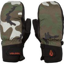 Volcom NYLE MITT tmavo zelená XL - Pánske rukavice