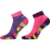 Voxx KOSTÍK 2 PACK ružová 23-25 - Detské ponožky