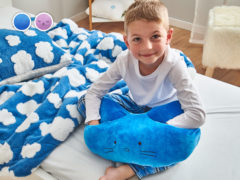 Vankúš 3v1 Warm Hug Dormeo detský, modrá