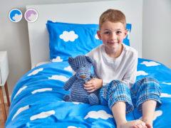 Detské posteľné obliečky Warm Hug Dormeo, 140x200 cm, ružová