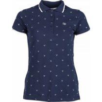 Willard MELA modrá XXL - Dámske tričko s golierikom