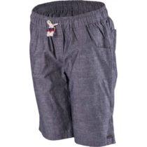 Willard MIKENA tmavo šedá 38 - Dámske  plátené šortky