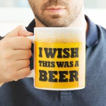 Veľký hrnček I Wish This Was a Beer