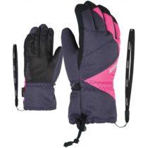 Ziener AGIL AS JR sivá 6,5 - Detské rukavice