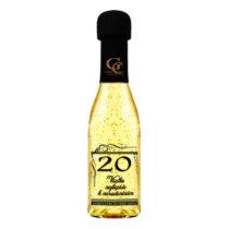 Zlaté šumivé víno 23 karát 0,2 l Narodeniny 20